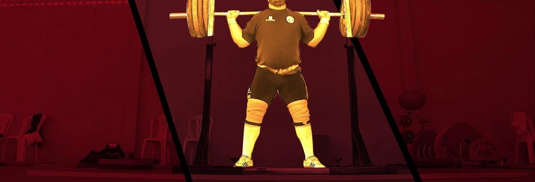 Acompanhe a rotina do atleta do levantamento de peso