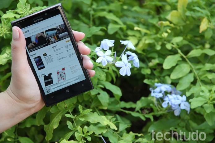 Lumia 925 (Foto: Luciana Maline/TechTudo)
