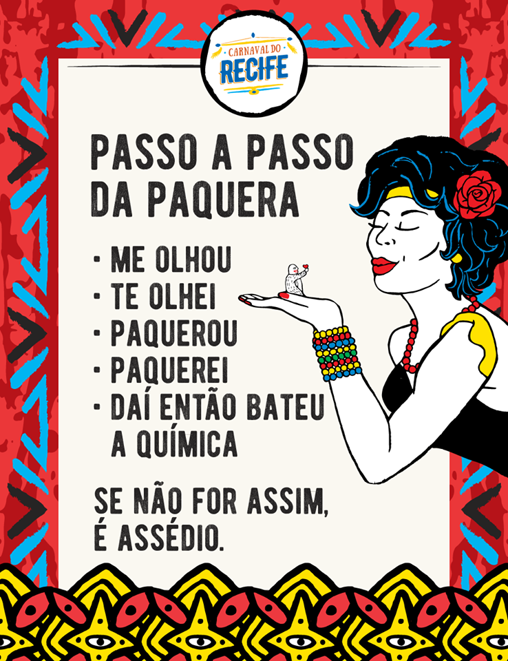 O cartaz do carnaval no Recife
