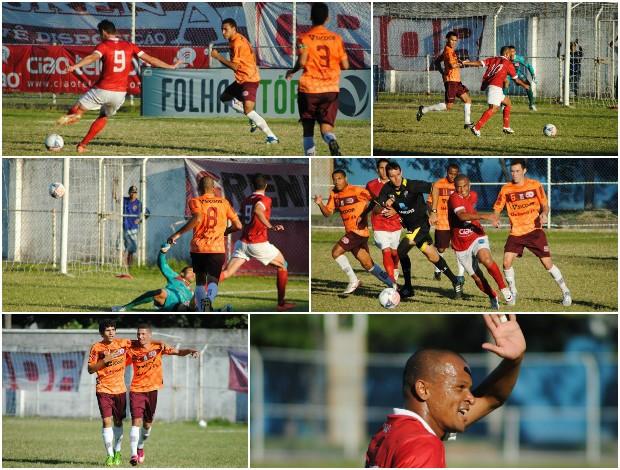 Vilavelhense x Desportiva Ferroviária, pela Copa Espírito Santo (Foto: Henrique Montovanelli/Desportiva Ferroviária)