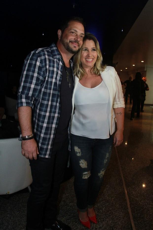 Conrado e Andréia Sorvetão (Foto: Graça Paes/Agencia Brazil News)
