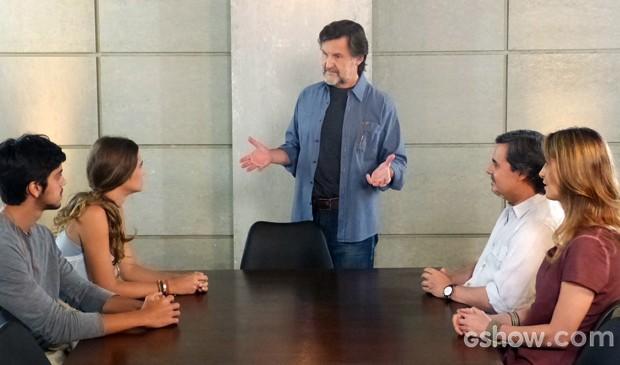 LC anuncia novos membros da cúpula da Comunidade (Foto: Além do Horizonte/TV Globo)