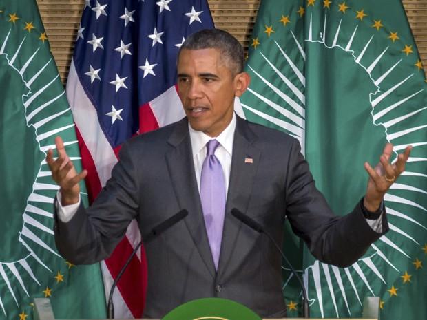 Obama levou também 'mensagens incômodas' a líderes africanos (Foto: AP Photo/Mulugeta Ayene)