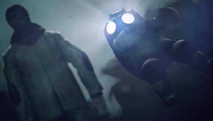 Thomas Zane uma única vez em Alan Wake, usando uma roupa de escafandrista (Foto: Reprodução/YouTube)