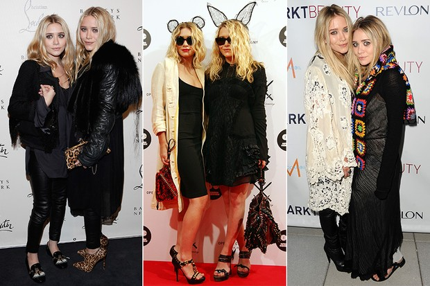Estilo - Ashley e Mary Kate Olsen (Foto: Getty Images)