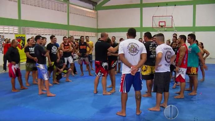 Semiário Wanderlei Silva Natal (Foto: Reprodução/Inter TV Cabugi)