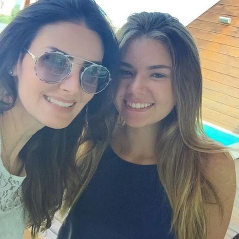 Lisandra e filha, Yasmin (Foto: Reprodução)