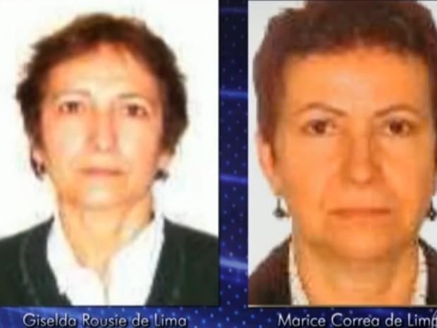 Giselda Rousie de Lima e Marice Corrêa de Lima são irmãs (Foto: Divulgação)