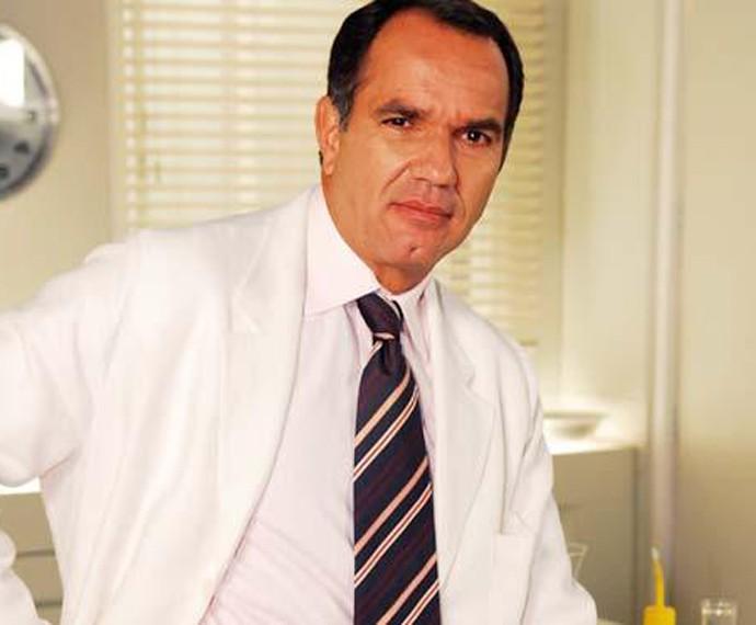 Humberto Martins é outro galã que já viveu médico. Foto é da novela de Beleza Pura (Foto: TV Globo)