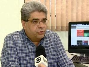 Dirigente de Ensino de Piracicaba (Foto: Reprodução EPTV)