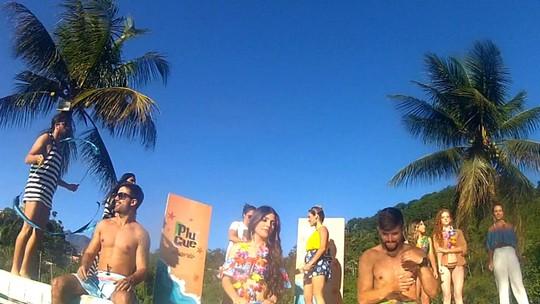 Festa na piscina agitou o 'Plugue de Verão' deste sábado (14)