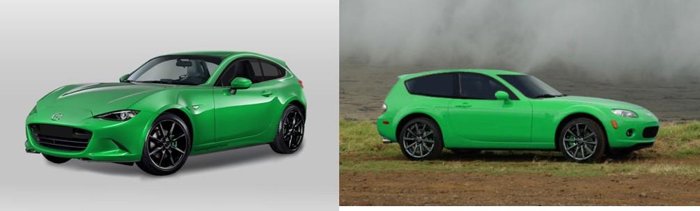 Mazda Miata Shooting Brake conceito