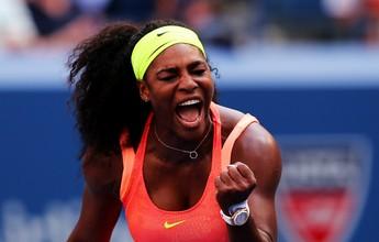 Serena sofre com 110ª do mundo, mas vence 30ª seguida em Grand Slams