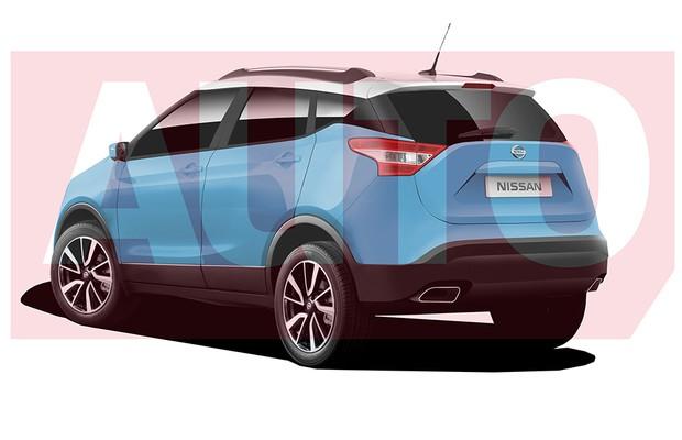Projeção do Nissan Extrem (Foto: Yuri Queiroz / Autoesporte)