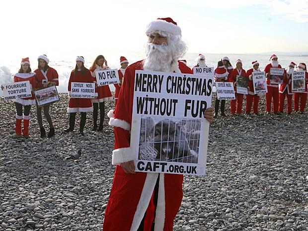 Natal pele (Foto: Lionel Cironneau/AP)