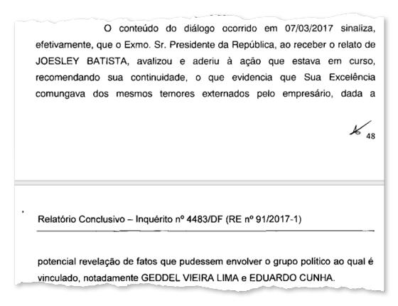 """PF: Temer """"aderiu"""" à compra do silêncio de Cunha e Funaro por parte de Joesley (Foto: ÉPOCA)"""