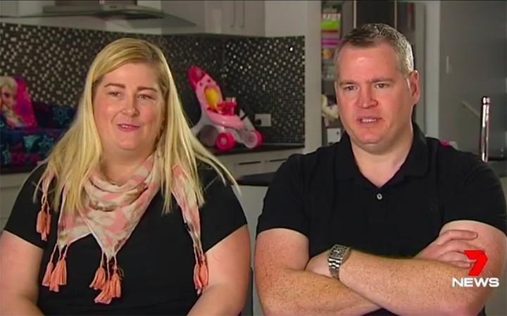 Kate e Peter Hill (Foto: Reprodução 7 NEWS)