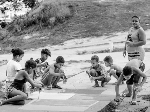 Projeto Favela Art (Foto: Divulgação/Bruno Itan)