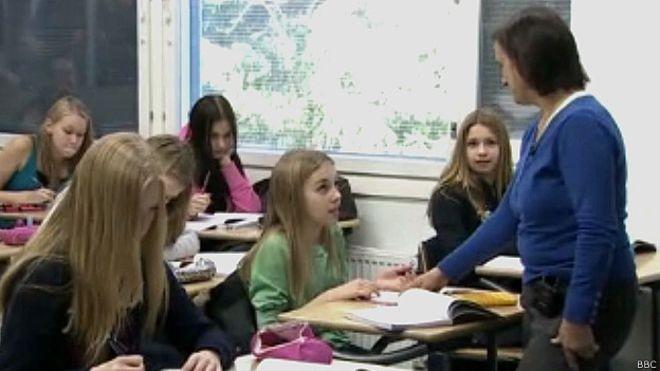 Ensino finlandês é uma das referências mundiais em qualidade da educação  (Foto: BBC)