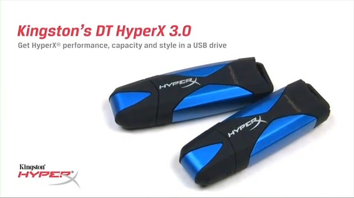 DataTraveler HyperX 3.0 (Foto: Divulgação/Kingston)