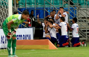 Em noite de belos gols, Bahia vence o Flamengo de Guanambi na Arena