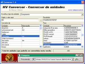 Conversor de unidades download