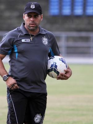 Leandro sena em treino amigão (Foto: Nelsina Vitorino / Jornal da Paraíba)