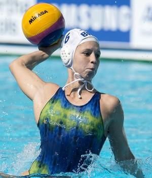 Izabella Chiappini, Brasil x Japão - Mundial de esportes aquáticos (Foto: Simone Castrovillari/SSPress)