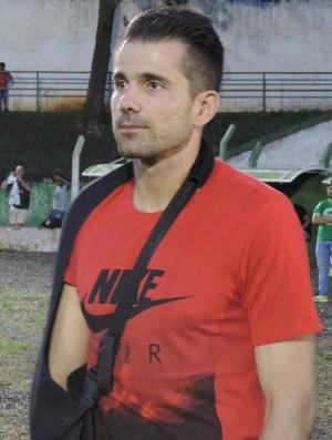 Victor Bagy, goleiro, Atlético Mineiro, Santo Anastácio (Foto: Valmir Custódio / GloboEsporte.com)