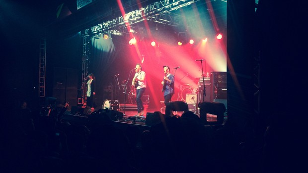 The Lumineers no Popload Festival (Foto: Patrcia Colombo)