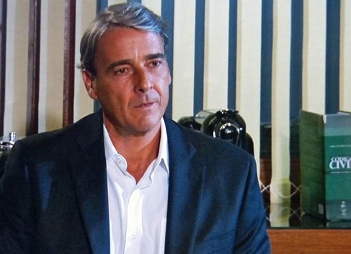 Alexandre Borges como o Thomaz em Além do Horizonte (Foto: CEDOC / TV Globo)