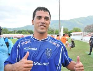 Fabrício, ex-Quissamã, acerta com o Goytacaz (Foto: Divulgação)