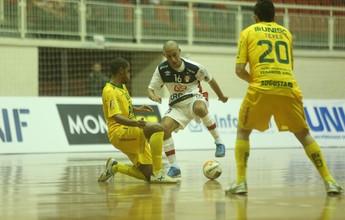 Gol de goleiro não impede derrota do Joinville diante do Assoeva na Liga