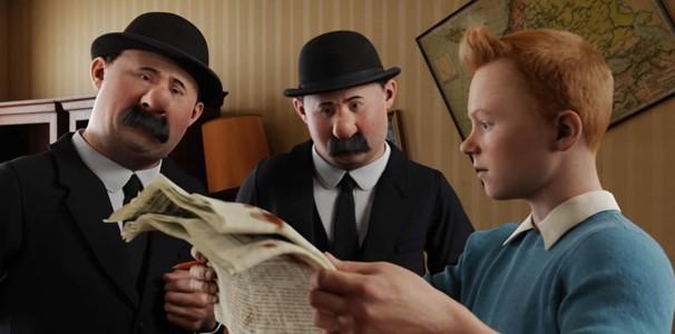 'As Aventuras de Tintim' (2011) foi o primeiro filme não-Pixar a vencer o Globo de Ouro de Melhor Filme Animado desde que a categoria foi criada (Foto: Divulgação/Reprodução)