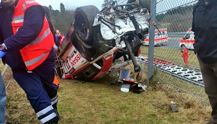Acidente VLN Nürburgring