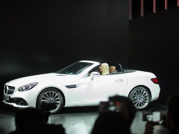 Mercedes-Benz SLK mudou de nome para SLC (Foto: AFP PHOTO/Geoff Robins)