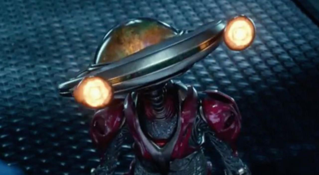 O simpático Alpha 5 de 'Power Rangers' (Foto: Divulgação)