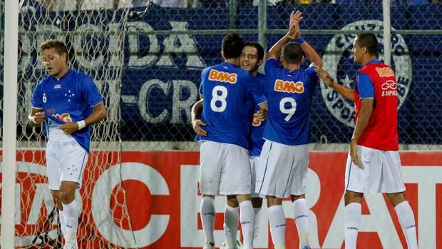 Anselmo gol Cruzeiro (Foto: Washington Alves / VIPCOMM)