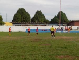 Futebol feminino amador de Guajará-Mirim (Foto: Júnior Freitas)