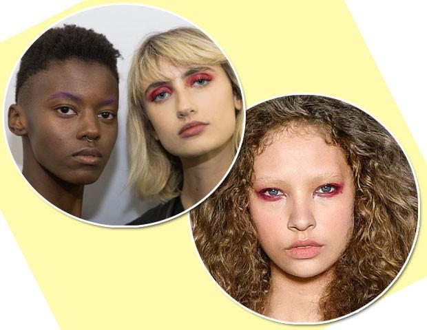De acordo com as passarelas do SPFW, os olhos coloridos são tendência (Foto: Thibé/Fotosite)