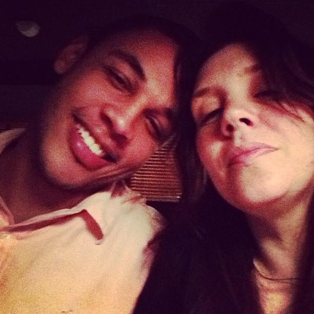 Simony com o namorado, Patrick Silva (Foto: Instagram/ Reprodução)