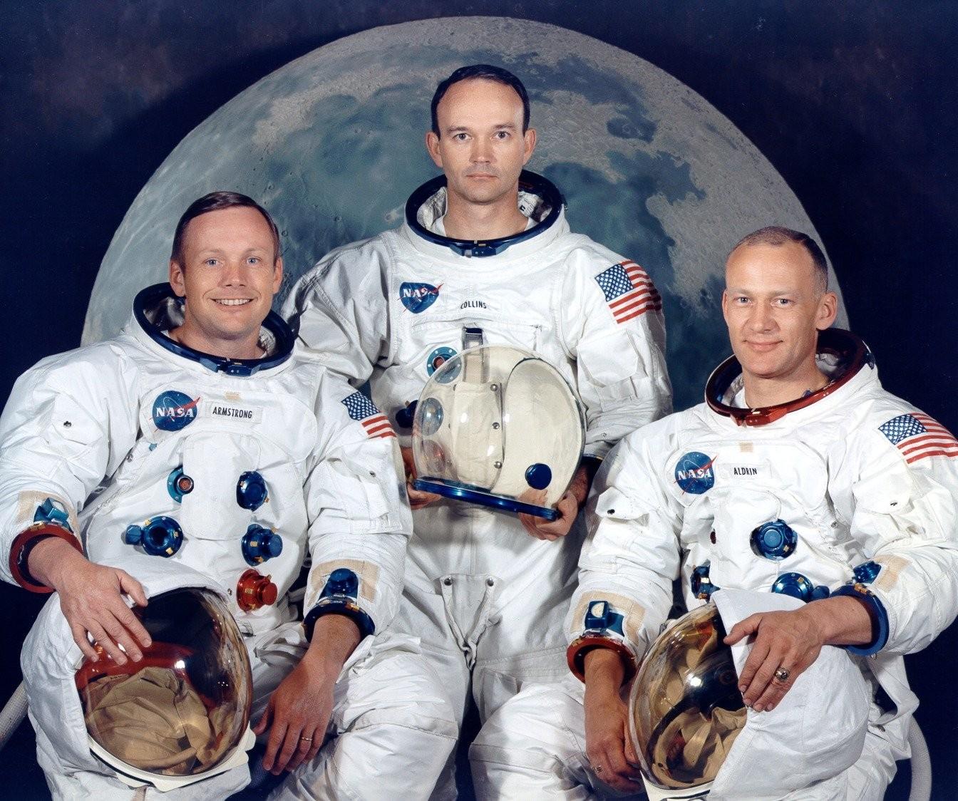 Equioe da Apollo 11 (Foto: Divulgao)