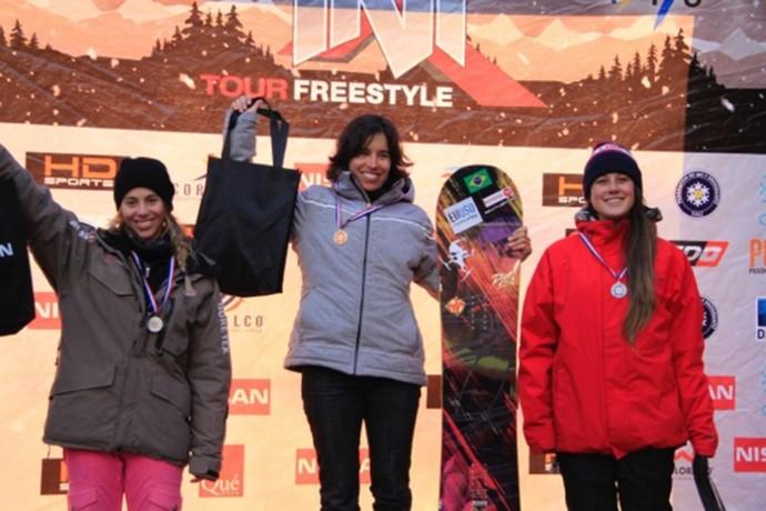 Isabel Clark, Copa Sul-Americana de Snowboard Cross (Foto: CBDN/Divulgação)