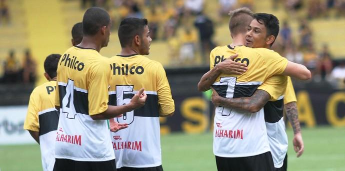 Criciúma gol (Foto: Fernando Ribeiro / Criciúma EC)