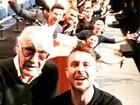 Selfie reúne 'super-heróis' e Stan Lee na Comic-con e faz sucesso na web