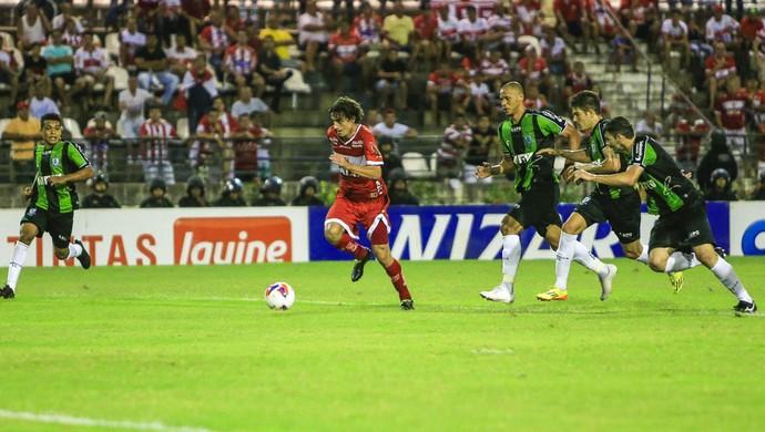 CRB x América-MG, Rei Pelé (Foto: Ailton Cruz/Gazeta de Alagoas)