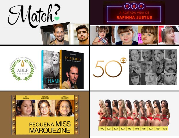 Infográficos (Foto: Sandy Bahia/EGO)