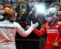Hamilton x Vettel: tudo igual em 2017