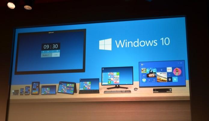Microsoft revela Windows 10 (Foto: Reprodução/TheVerge)
