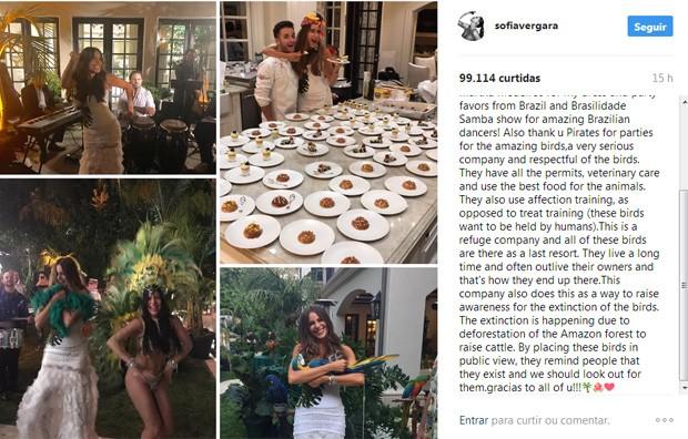 Post de Sofia Vergara (Foto: Reprodução / Instagram)